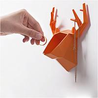 Настенный держатель для аксессуаров Deer Orange // 121265