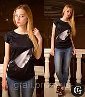 3d футболка Профиль