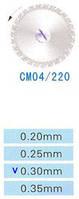 Диск алмазный двухсторонний CM04/220/0.30 Kangda Gold Eagle