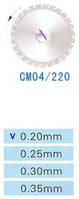 Диск алмазний двосторонній СМ04/220/0.20 Kangda Gold Eagle