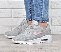 Кроссовки женские Nike Air Max 90 Shanghai Grey, Серый, 38