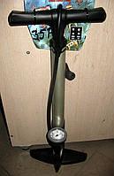 Насос алюминиевый с монометром, модель 35Р, GIYO Тайвань