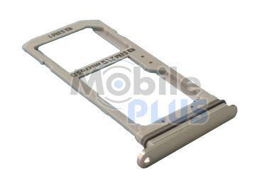 Samsung SM-G935FD Galaxy S7 Edge Держатель SIM (2-SIM), Silver, original (PN:GH98-39126B)