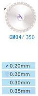 Диск алмазний двосторонній СМ04/350/0.20 Kangda Gold Eagle
