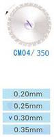 Диск алмазный двухсторонний CM04/350/0.30 Kangda Gold Eagle