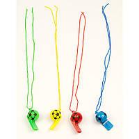 Свисток футбольный мяч 140417-036