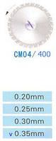 Диск алмазный двухсторонний CM04/400/0.35 Kangda Gold Eagle