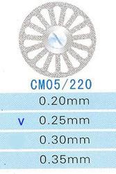 Диск алмазний двосторонній CM05/220/0.25 Kangda Gold Eagle