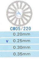 Диск алмазный двухсторонний CM05/220/0.25 Kangda Gold Eagle