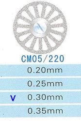 Диск алмазный двухсторонний CM05/220/0.30 Kangda Gold Eagle