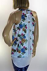 Блузка  с цветочным принтом Excup, фото 3