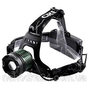 Налобный фонарь Police BL-2188B T6 158000W, фото 2