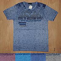 Мужская футболка легкая летняя марлевка Турция 419