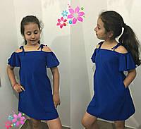 Летний сарафан платье для девочки, 122 - 140. Детский, подростковый