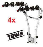 Велобагажник Thule HangOn 4. Багажник для перевозки 4-х велосипедов на фаркоп. Велокрепление.