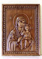 Резная Икона - Пресвятая Богородица 620х460