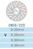 Диск алмазный двухсторонний CM06/220/0.25 Kangda Gold Eagle