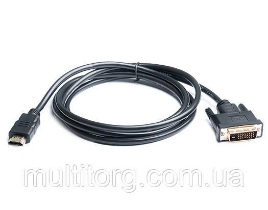 Кабель REAL-EL HDMI-DVI 1.8М черный