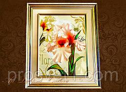 Картина маслом А2 (Цветы)