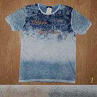 Мужская футболка легкая летняя марлевка Турция 420