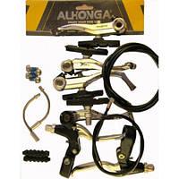 "Комплект тормозной системы V-Brake (ободной тормоз) ""ALHONGA"""