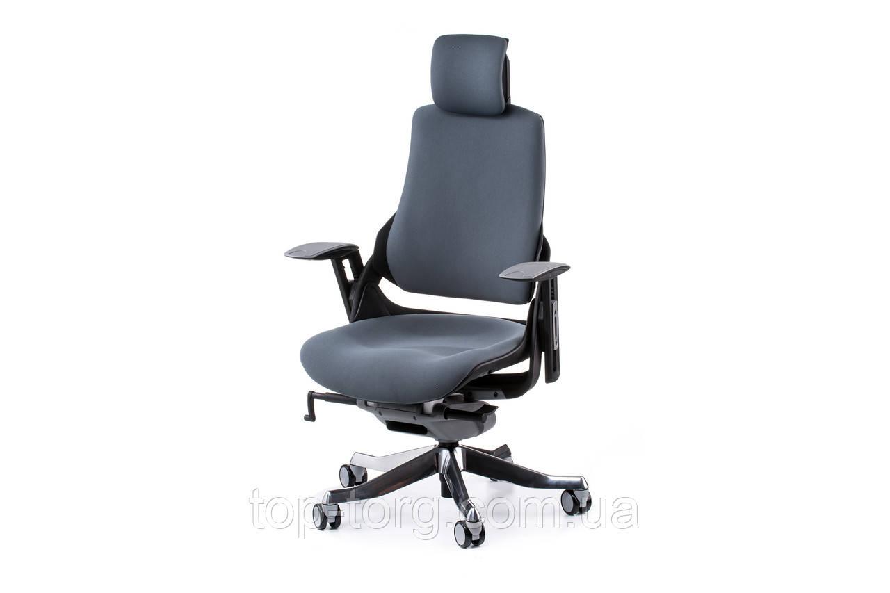 Кресло офисное, компьютерное WAU SLATEGREY FABRIC, серый цвет