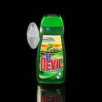 Гель для унитазов Dr. Devil Apple Девил Яблоко 400 мл и запасной блок