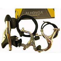 "Комплект тормозной системы V-Brake ""ALHONGA"" для велосипеда ""Турист"""