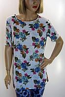 Блузка  с цветочным принтом Excup