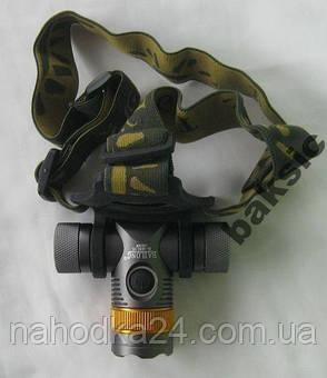 Налобный фонарь Police BL-6836 T6 (3 фильтра), фото 2