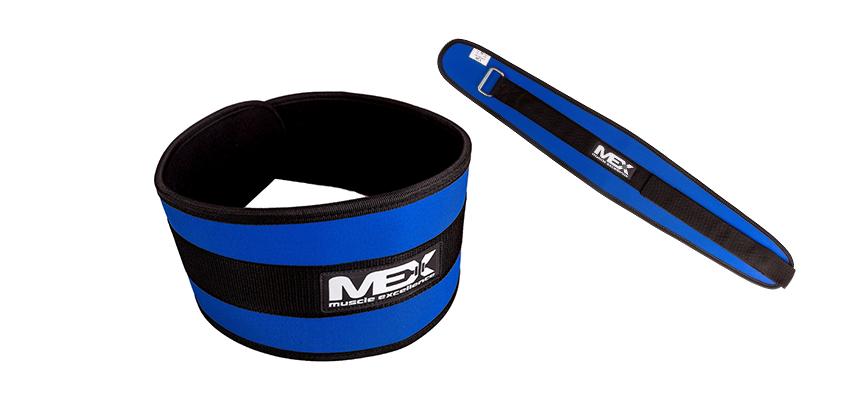 FIT-N-BELT wide blue MEX Nutrition - XS (67-80 см)