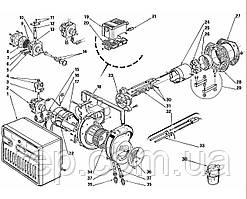 Запасні частини до одноступеневою пальником Riello серії 40 F 5