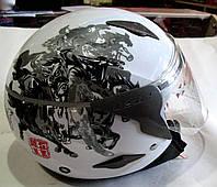 Шлем открытый LSS белый
