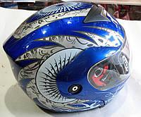 Шлем трансформер. цвет: синий. черный. красный