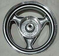 Диск титановый задний. для скутера. размер 3.50*13 19 шлицов. для барабанных тормозов