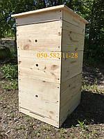 Улей для пчел двухкорпусный Дадан 10 рамок