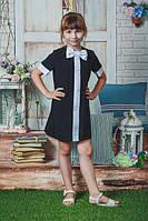 Платье школьное с бантиком