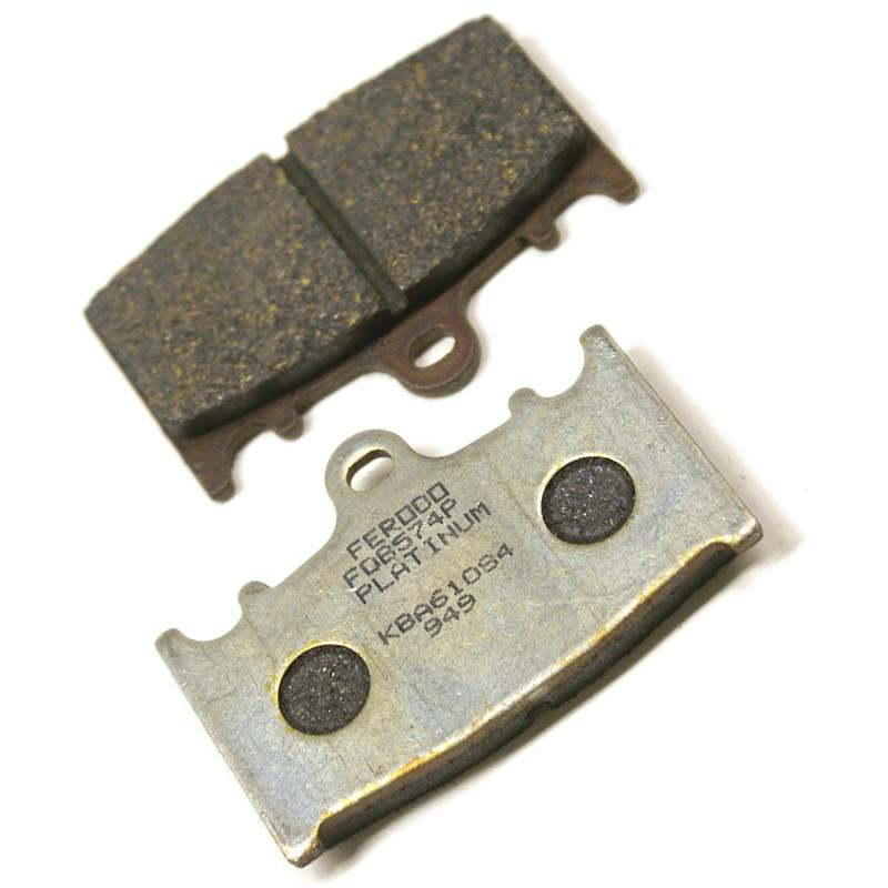 Комплект тормозных колодок Ferodo Platinum FDB574P