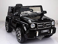 Детский электромобиль JJ 263 EBRS-2 Mercedes G63: 2.4G, EVA, 90W, 3-8 км/ч- Черный Покраска-купить оптом , фото 1
