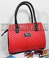 Стильная брендовая красная сумка