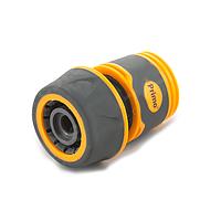 Коннектор 5819E для шланга диаметром 3/4 дюйма, пластиковый корпус с резиновым покрытием, упаковка 25 шт.
