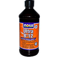 Now Foods, Ultra B-12,  (473 мл)