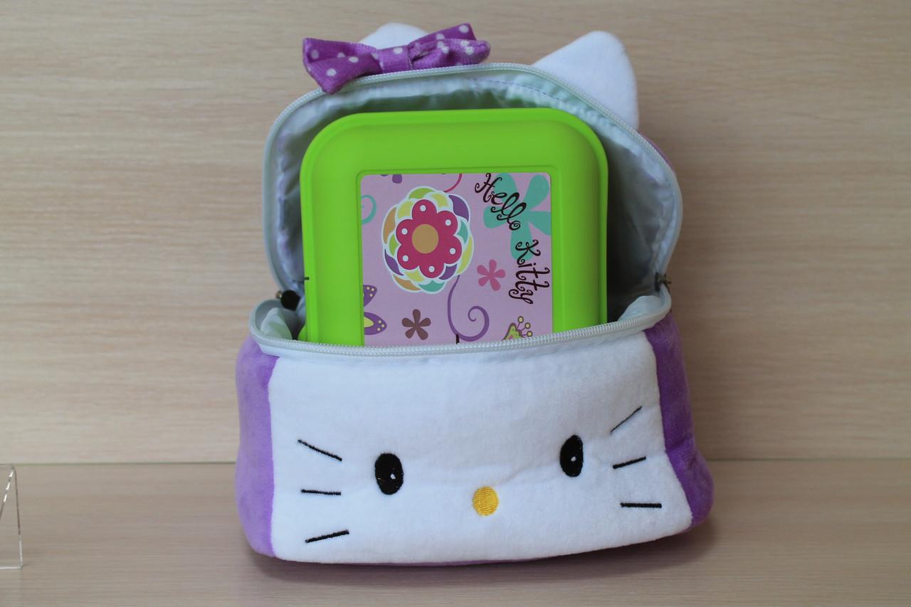 Детский ланчбокс в наборе с мягкой сумкой тм Копиця - Style-Baby детский магазин в Киеве
