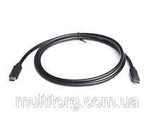 Кабель REAL-EL USB3.0 Type C-Type C 1m чорний