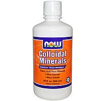 Now Foods, Коллоидные минералы  (946 мл)