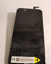 Модуль (сенсор + дисплей) Iphone 6S чорний, фото 2