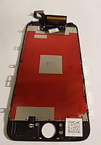Модуль (сенсор + дисплей) Iphone 6S чорний, фото 3