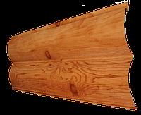 Металлосайдинг SUNTILE Бревно (Printech) вишня 0,45 мм