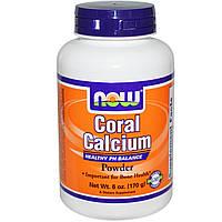 Now Foods, Порошок кораллового кальция (170 г)