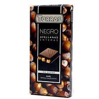 Шоколад TORRAS Negro с фундуком 200г